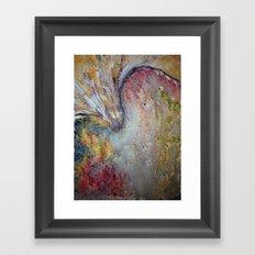 Explosion Framed Art Print