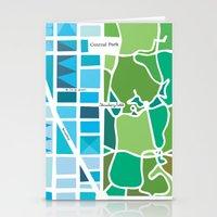 manhattan Stationery Cards featuring Manhattan by Jenny Wallmark