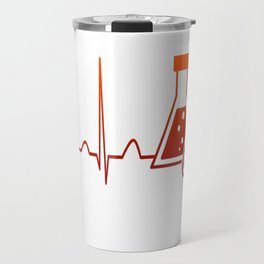 Chemist Heartbeat Travel Mug