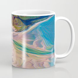 Whitehaven Beach Rainbow Difference Delta River Outlet Blow Coffee Mug