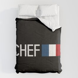 Chef (French Flag) Comforters