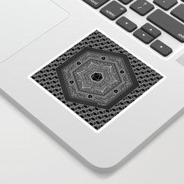 August Mandala 2018 Sticker