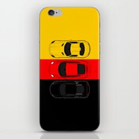 german iPhone & iPod Skins featuring German Horsepower by Blayde