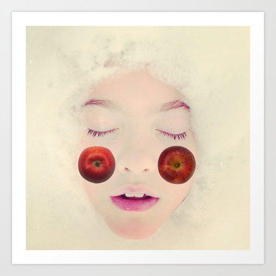 äppelkind Art Print