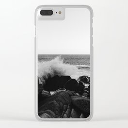Monochrome Mexico Clear iPhone Case