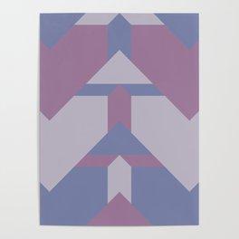 Violet Directions #society6 #violet #pattern Poster