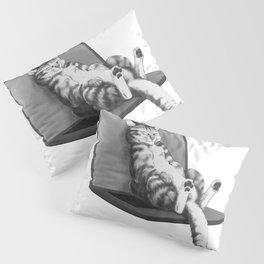 cat top Pillow Sham