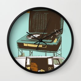 BROKEDOWN Wall Clock