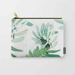 green plant leaves Carry-All Pouch