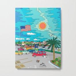 Orlando Sunrise Metal Print
