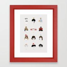 Miyazaki 's World Framed Art Print
