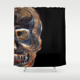Crystal skull Shower Curtain