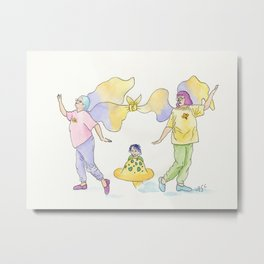 Frumpy Fairy 2 Metal Print