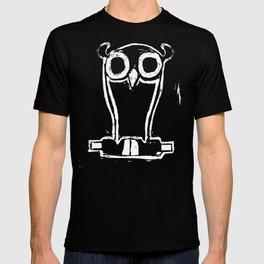 Weiser-Künstler Eule T-shirt
