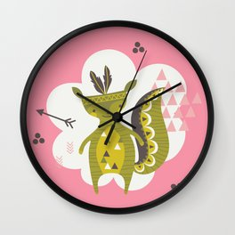Camp Wichita Girls Wall Clock