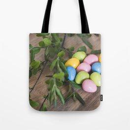 Easter Eggs 20 Tote Bag