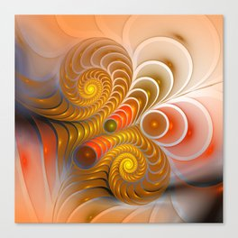 golden turns Canvas Print