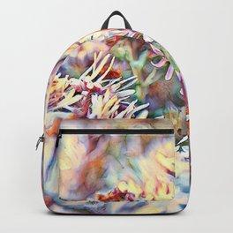aquarell Floral 09 Backpack