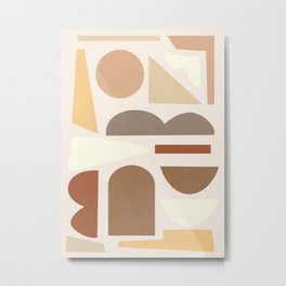 Abstract Shapes 59 Metal Print