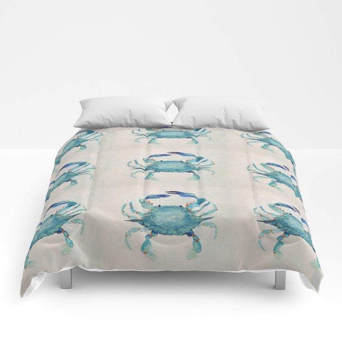 Atlantic Blue Crab Comforters