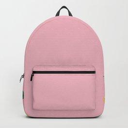 Pink Tropical Summer Backpack