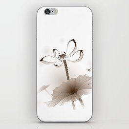 Oriental Lotus 003 iPhone Skin