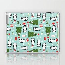 Penguin Party Pattern Laptop & iPad Skin