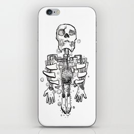 Left Behind Mason Jars iPhone Skin