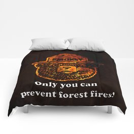 Smokey the Bear Comforters