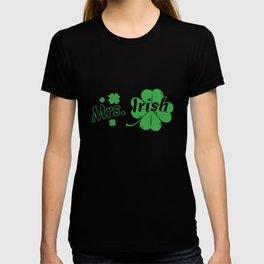 Mrs. Irish St Patrick's Day Shamrock Couple T-shirt