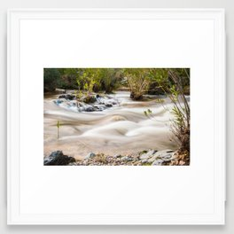 River Flow Framed Art Print