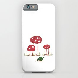 Fall Shrooms iPhone Case