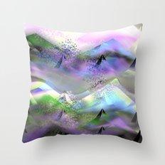 Ocean-Race  no31 Throw Pillow