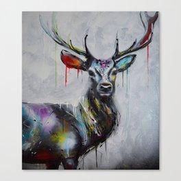 Deer TT Canvas Print