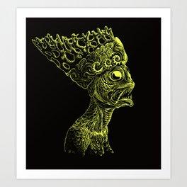 Queen of the Deep Ones Art Print