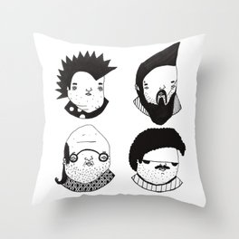 Busts 2° Part Throw Pillow