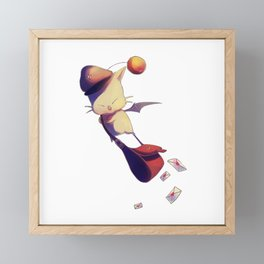 Fantasy Moogle Framed Mini Art Print