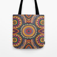 coral Tote Bags featuring Coral by Arcturus
