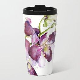 Radiant Orchids: Magenta Dendrobiums Travel Mug