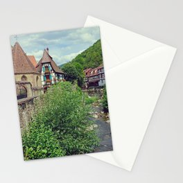 Kaysersberg, medieval french village - Fine Arts Travel Photography Stationery Cards