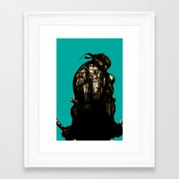 leonardo Framed Art Prints featuring Leonardo by superdaimos
