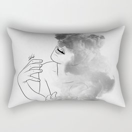 War of thoughts. Rectangular Pillow