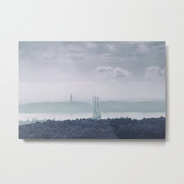 The view from Monsanto. Lisboa, Portugal. Metal Print