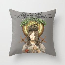 Beautiful Disposition Throw Pillow