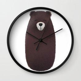 Bear Nursery Art Wall Clock