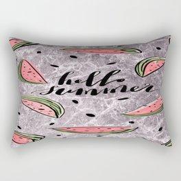 Hello Summer! Rectangular Pillow