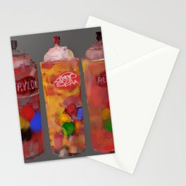 Spray Paint Cans Stationery Cards