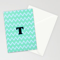 Letter T Stationery Cards