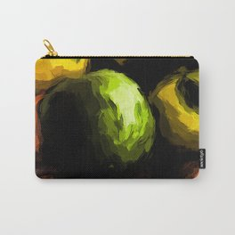 Apples of Yellow and Green with Orange Mandarins Carry-All Pouch