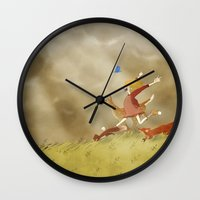 run Wall Clocks featuring Run! by Tona Llumbart